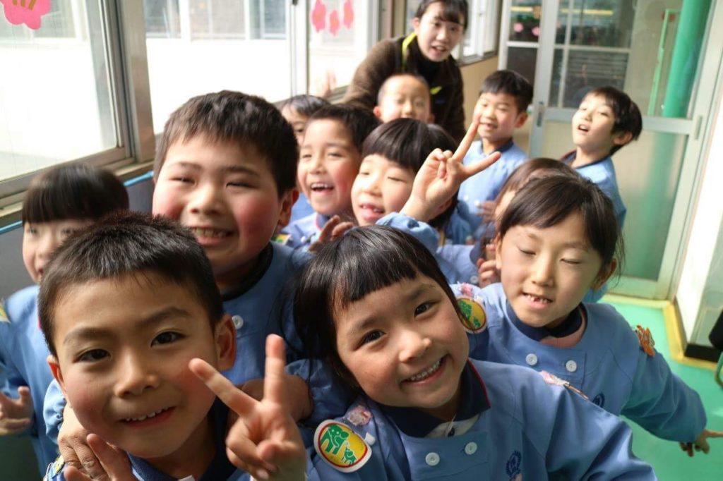 岐阜の子供たちから福島の子供たちへ笑顔いっぱいの贈り物